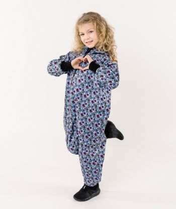 Waterproof Softshell Overall Comfy Fireworks Jumpsuit