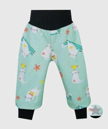 Waterproof Softshell Pants Playful Cats