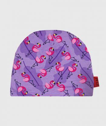 Baggy Hat Flamingo Purple