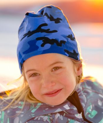 Baggy Hat Camouflage Blue