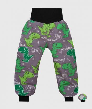 Waterproof Softshell Pants Dino Grey