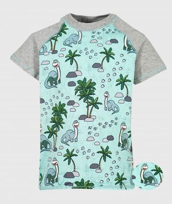 T-shirt Dino Mint